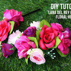 Square small operation overhaul ldr floral headband tutorial