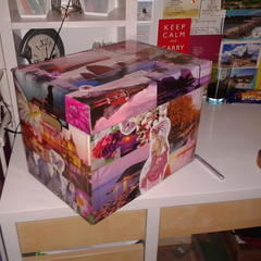 Decoupage/ Collaged Box