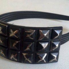 Studded Belt Headband