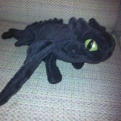 Toothless Dragon Plushie