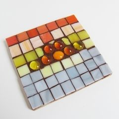 Stained Glass Mosaic Trivets