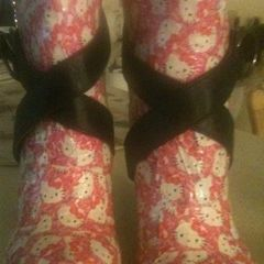 Diy Hello Kitty Wedge Shoes