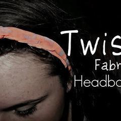 Twist Fabric Headband