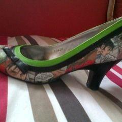 Diy Zombie Comic Heels