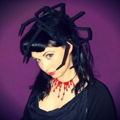 Halloween Spider Fascinator