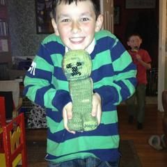 Minecraft Creeper Crochet Toy