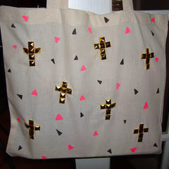Diy Studded Tote Bag