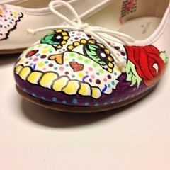 Day Of The Dead Shoes :)