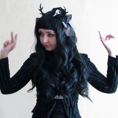 Gothic Lolita  Dear Horns Hair Band