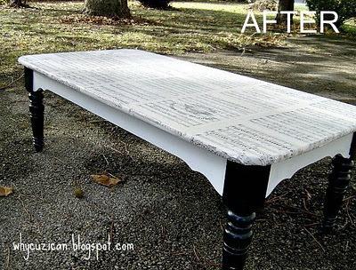 Sheet Music Coffee Table Rimsky Korsa Koffee 183 A Table 183 Decoupage And Decoupage On Cut Out Keep