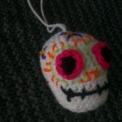 Crochet Dia De Los Muertos Sugar Skull