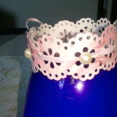 Paper Cut Out Bracelet