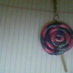 Lollipop Pendant Necklace