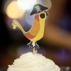 Pirate Rum Cupcakes