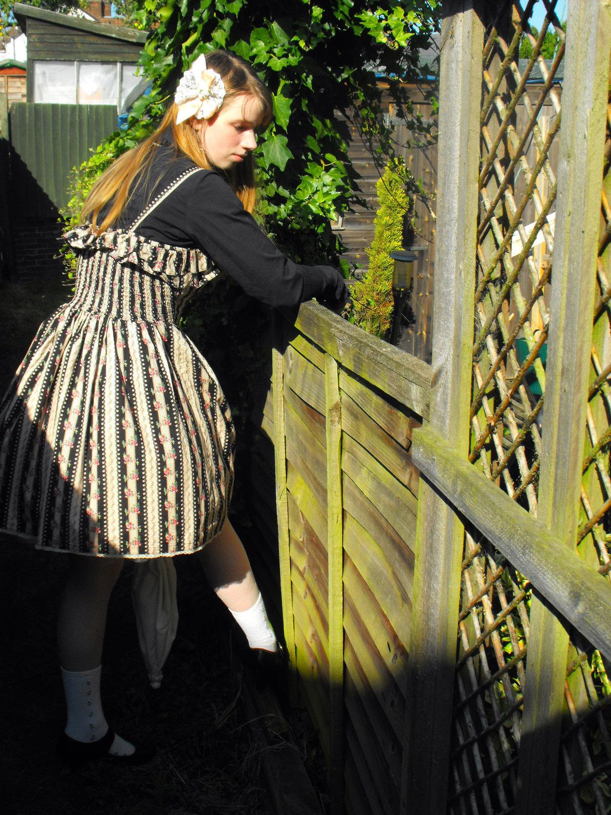 Diy Classic Lolita Look · How To Make A Pinafore Dress ...