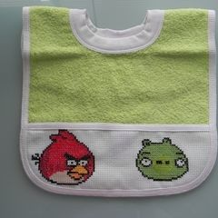 Angry Birds Bib