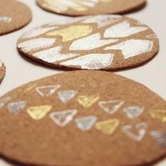 Diy Stamped Coasters