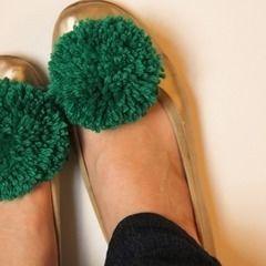 Diy Shoe Pom Poms