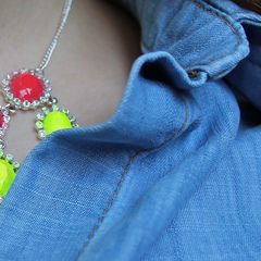 Neon Nail Polish Necklace