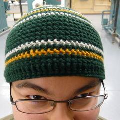 Triforce Hat (Crochet)