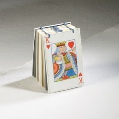 King Of Hearts Mini Book