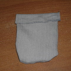Pouch From Jeans Scraps