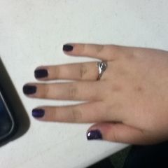 Space Purple Nails