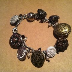 Nice And Easy Button Bracelet