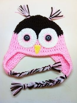 Too Cute Not To Make .  Make an animal hat in under 120 minutes by crocheting with crochet hook and worsted weight yarn. Inspired by birds, kawaii, and owls. Creation posted by Pam. Difficulty: 3/5. Cost: Cheap.