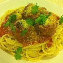 Baked Meatballs With Pasta