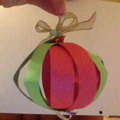 Cute Paper Ornament