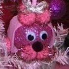 Pink Poodle Ornament
