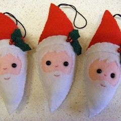 Santa Christmas Tree Decoration