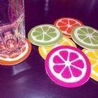 Fruity Coasters!