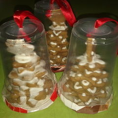 Christmas Tree Cookie Ornaments!