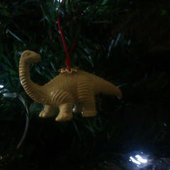 Dinosaur Christmas Tree Decorations