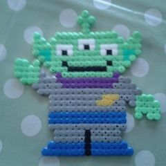 Toy Story Alien In Hama Beads