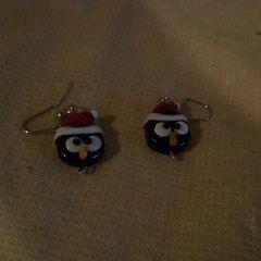 Penguin Bead Earrings