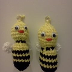 Busy Bees Christmas Tree Ornaments