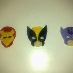 Marvel Felt Faces