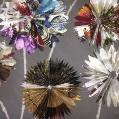 Restoration Hardware Or Other Catalogs ~ Stars ~ Holiday Decorations Or Use As Bows