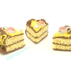 Polymer Clay Yellow Cake
