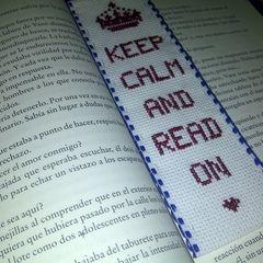 Keep Calm Book Mark