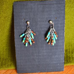 Electronic Resistor Earrings