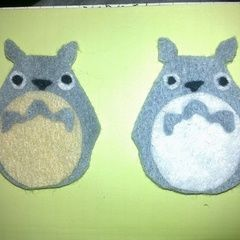 Totoro Felt Pin Badge