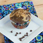 Square small choc pb muffins gawkedited