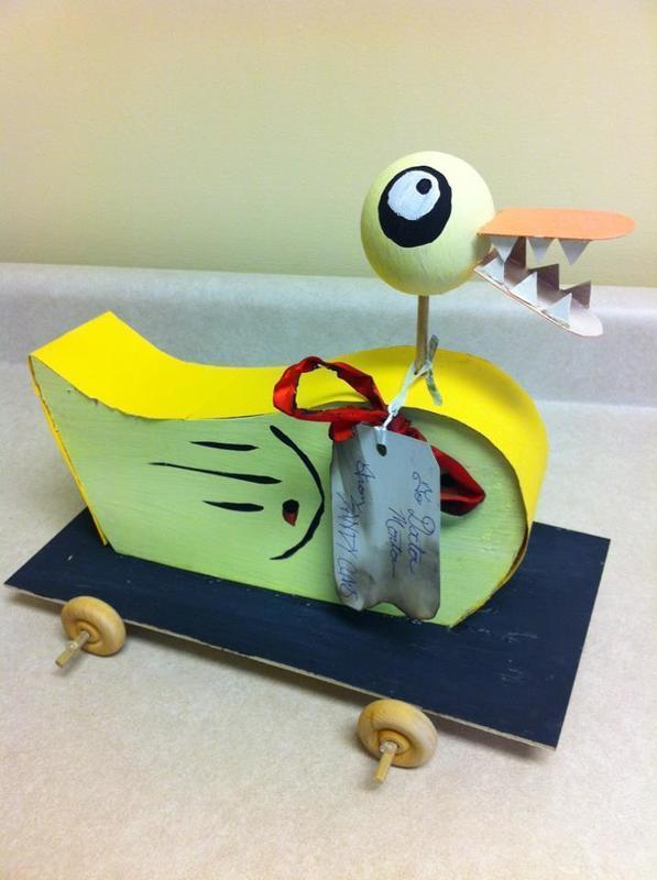 Nightmare Before Christmas Duck · A Duck Plushie · Art, Construction ...
