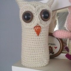 Snow Owl (Crochet)