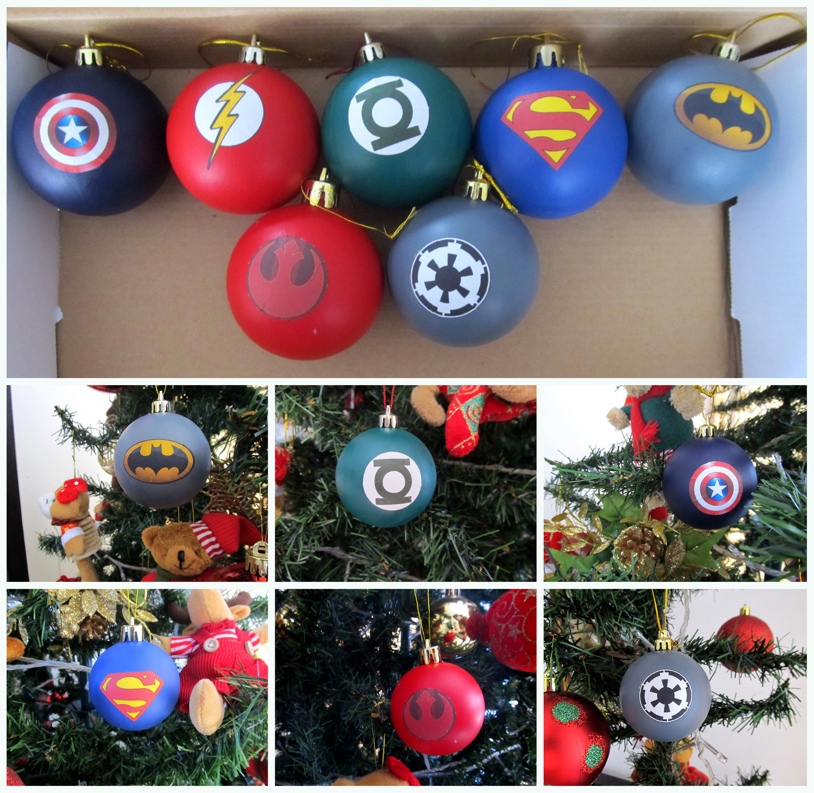 Geek Christmas Balls · A Bauble · Creation by Lufe Soto