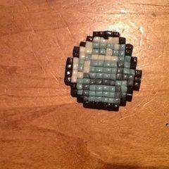 Minecraft Diamond Necklace Charm